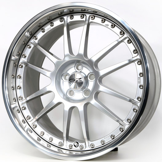 OZ Superleggera III Race Silver