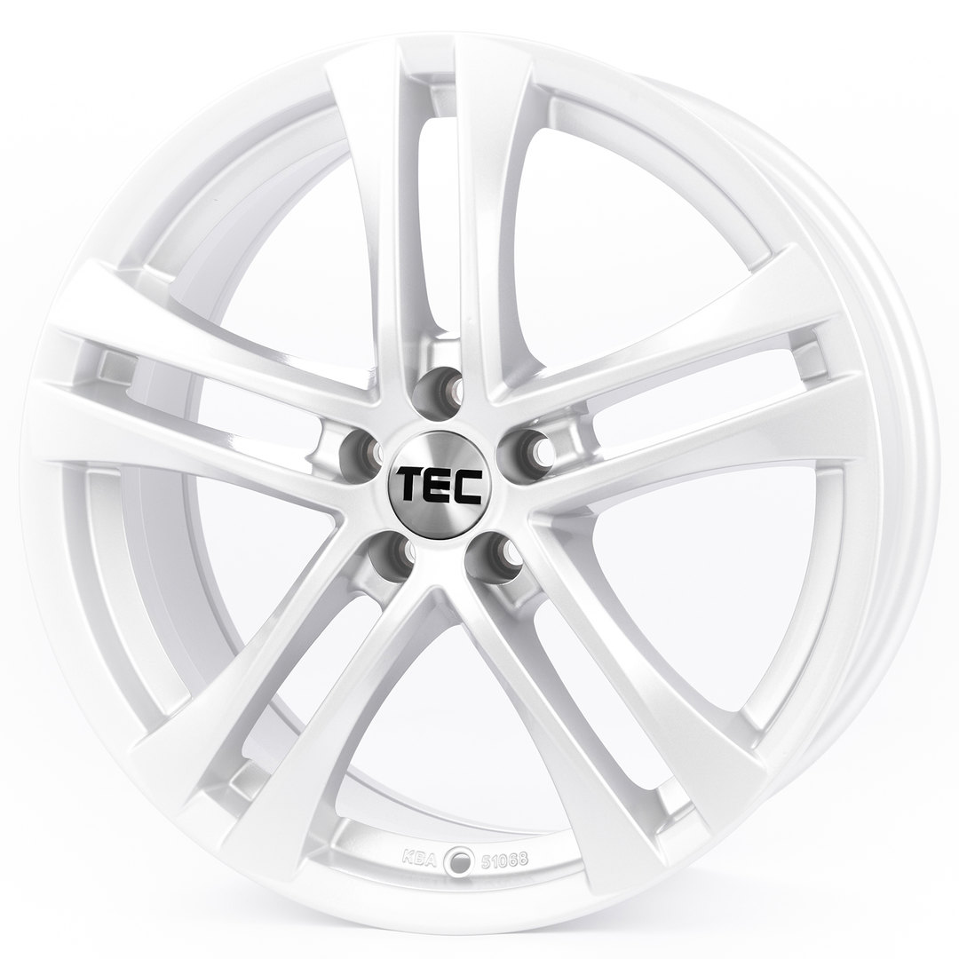 Tec Speedwheels AS4 Kristall silber