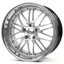 Emotion Wheels Wasabi hyper - silver/inox
