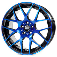 RH Alurad NBU Race color polished - blue