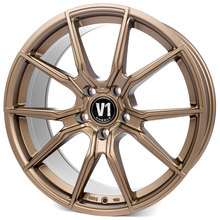 V1 Wheels V1 Bronze Matt lackiert