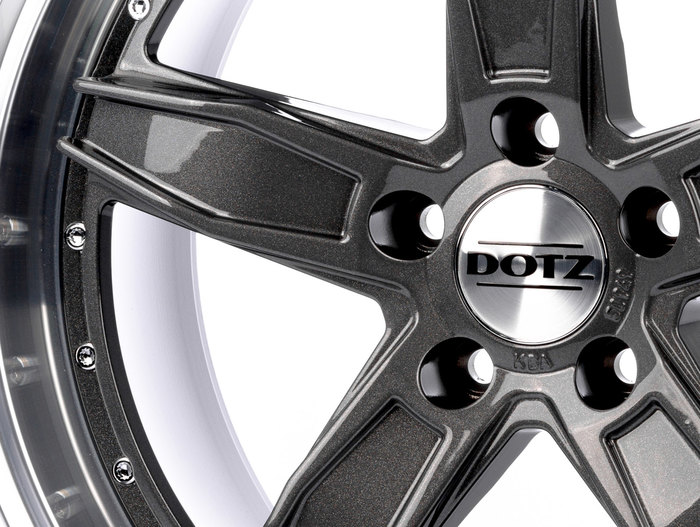 Dotz SP5 Gunmetal polished
